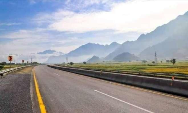 سوات موٹروے کو ہر قسم کی ٹریفک کیلئے با ضابطہ طورپر کھول دیا گیا