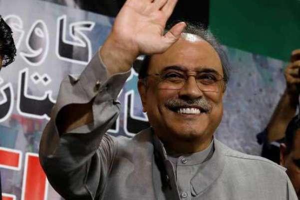 آصف علی زرداری کی ضمنی ریفرنسز خارج کرنے کی درخواستوں پر فیصلہ 23 ستمبر ..