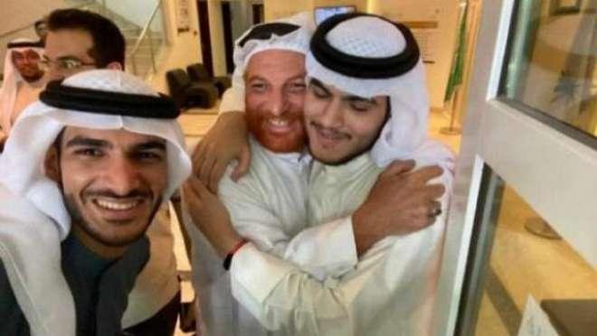 20 سال سے بچھڑے سعودی بیٹے کا بالآخر والدین سے ملاپ ہو ہی گیا