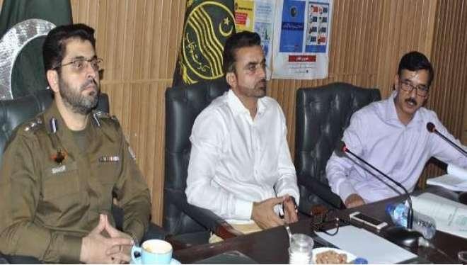 شہر میں تجاوزات کے خاتمے کو یقینی بنایا جا رہا ہے،ڈپٹی کمشنر جہلم