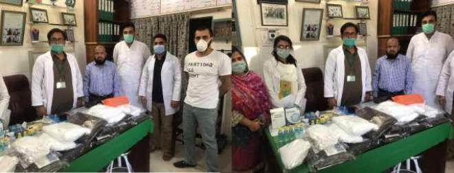 کرونا وائرس سے بچاؤ کے لیے رورل ہیلتھ سنٹرز اور ہسپتالوں میں ماسک اور ..