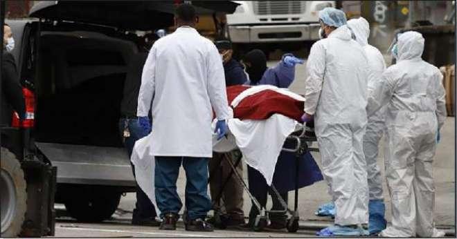امریکہ میں کورونا کے باعث مزید 1200 سے زائد ہلاکتیں