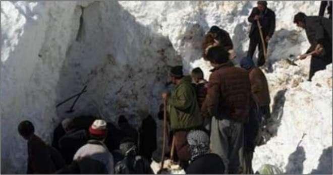 وسطی افغانستان میں برفانی تودے گرنے سے 21 افراد ہلاک