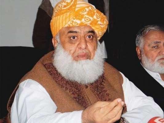 جیسے حالات ہیں اس کے تحت حکومت دسمبر تک ختم ہوجانی چاہیے، مولانا فضل ..