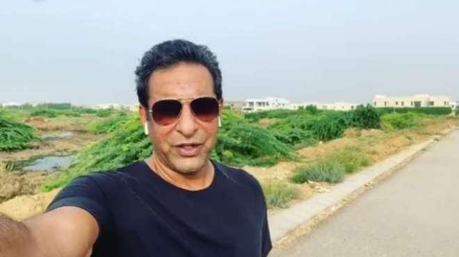 وسیم اکرم نے ملک کو صاف بنانے کا نسخہ بتا دیا