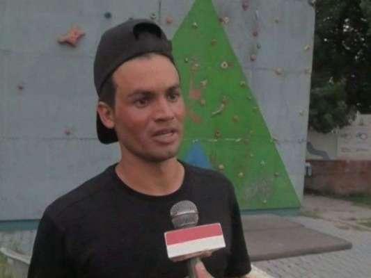 انٹرنیشنل کلائمبر یاسین علی برج الخلیفہ پر چھڑنے کیلئے پرعزم