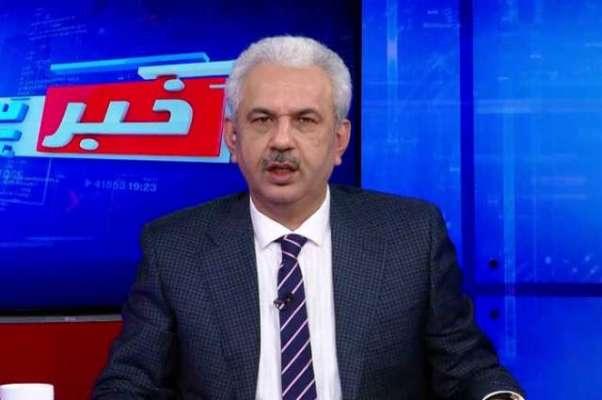 دیگر مشیروں کے بارے  میں بھی اہم اداروں کے پاس ثبوت موجود ہیں: عارف حمید ..