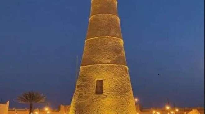سعودی عرب میں مٹی سے بنی عمارتوں کا قصبہ سیاحو ں کی توجہ کامرکز