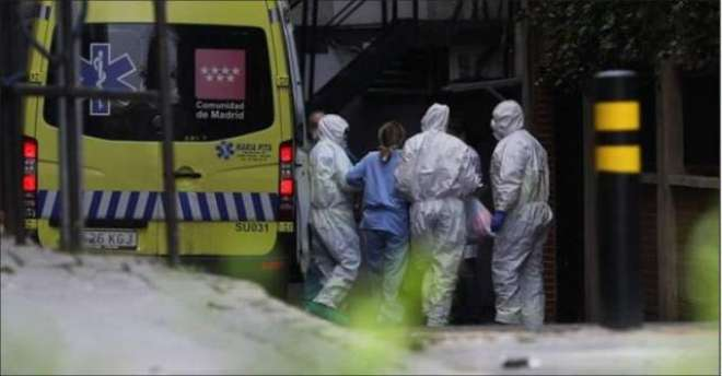 سپین میں کورونا وائرس کے 6600 نئے کیسزکی تصدیق