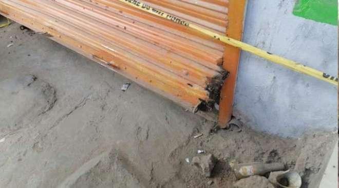 اولڈ جی ٹی روڈ مشین محلہ پر واقع تین دکانوں میں علی الصبح چوری کی واردات،