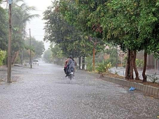 پنجاب کے بالائی علاقوں میں ہلکی بارش اور مطلع جزوی طور پر ابر آلود ..