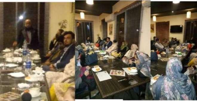 ڈاکٹرز عمل گروپ کی طرف سے شاندار ڈنر کا اہتمام