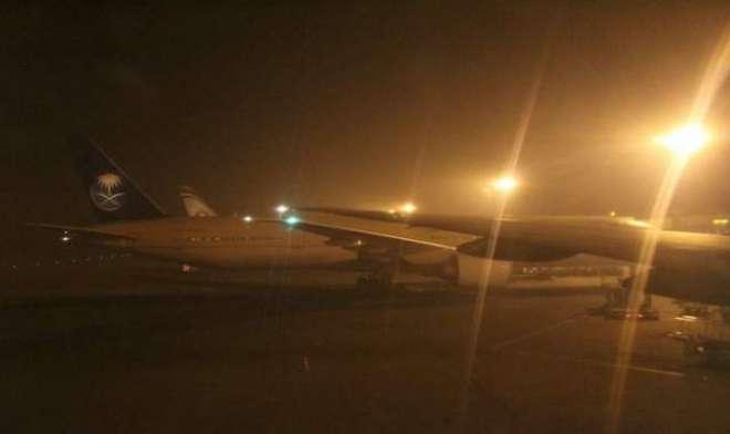 کراچی کا موسم بگڑنے کے بعد سول ایوی ایشن اتھارٹی نے الرٹ جاری کر دیا