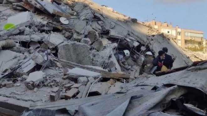 ترکی کی حکومت کا زلزلہ کے باعث ہونے والے نقصانات پر یکجہتی کا اظہار ..