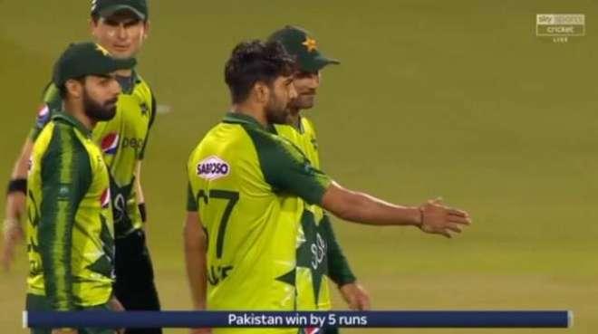 تیسرے ٹی ٹونٹی میں کامیابی کے بعد پاکستان نے ٹی ٹونٹی رینکنگ میں اپنی ..