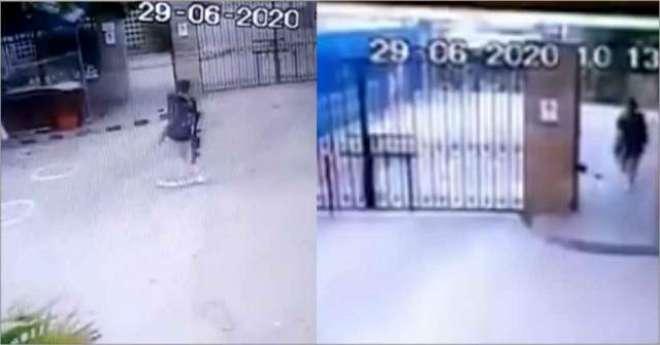پاکستان اسٹاک ایکسچینج پر دہشت گرد حملے کی سی سی ٹی وی فوٹیج منظر عام ..