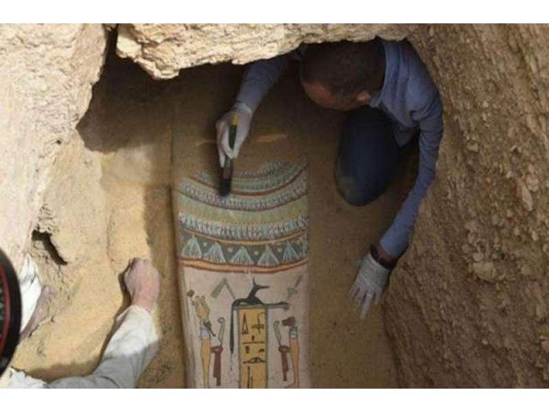 مصر میں اڑھائی ہزار سال قبل زمانہ فرعون کے 27 تابوت دریافت