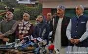 دہلی میں کشمیری رہنماؤں کی مودی سے ملاقات