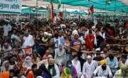 بھارت کی کسان تحریک، 'اللہ اکبر  اور  ہر ہر مہادیو' کے نعرے
