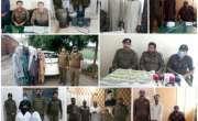 آئی جی پنجاب کی ہدایات پر صوبہ بھر میں سماج دشمن عناصر و جرائم پیشہ ..