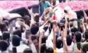 آزاد کشمیر ، مریم نواز کی ریلی میں نامعلوم شخص کی شرارت