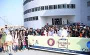 بیگم نصرت بھٹو ویمن یونیورسٹی سکھر کے شعبہ  تعلیم کے زیر اہتمام اساتذہ ..