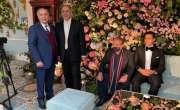 لندن میں جنید صفدر کے نکاح کی تقریب، جنید اور نواز شریف کی تصاویر اور ..