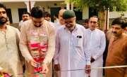معاون خصوصی وزیر اعلیٰ پنجاب سید رفاقت علی گیلانی  نے گورنمنٹ کالج ..