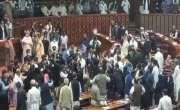 حکومتی ارکان میں پھوٹ پڑگئی،  قومی اسمبلی اجلاس میں مراد سعید کی اسد ..