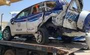 شارجہ میں خاتون ڈرائیور کی گاڑی نے پولیس پٹرولنگ کار کو ٹکر مار دی، ..