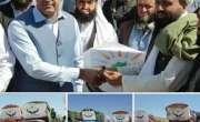 چمن پاک افغان آپریشن فورم کی جانب سے 13 ٹرکوں پر مشتمل خوراکی اشیاء افغانستان ..