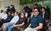 چیف جسٹس آزاد کشمیر کی کی کشمیر پریمئر لیگ کے میچ میں شرکت