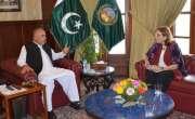 پاکستان میں یورپی یونین کی سفیر آنڈرولا کمینارا (Ms. Androulla Kaminara)نے منگل ..