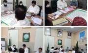 تحصیل ہسپتال حاصل پور میں معزور افراد کو سرٹیفکیٹ دینے کے لیے بورڈ ..