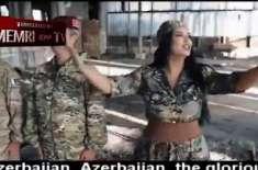 پاک سرزمین شاد باد،آذر بائیجان نے کاراباخ فتح کے بعد جنگی ترانہ ریلز ..