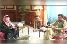 وزیراعظم عمران خان کا سعودی بادشاہ اور ولی عہد کیلئے نیک جذبات کا اظہار