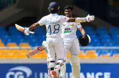 ویسٹ انڈیز اور سری لنکا کے درمیان پہلا ٹیسٹ میچ ہارجیت کے فیصلے کے بغیر ..