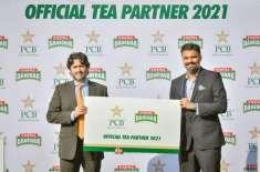 ٹپال چائے پاکستان کرکٹ ٹیم کی آفیشل ٹی پارٹنر بن گئی