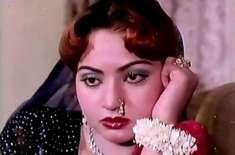 لالی وڈکی خوبرو فلمی اداکارہ نادرہ کی26ویں برسی6اگست کو منائی جائے گی