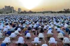 متحدہ عرب امارات کی تمام مساجد اور عید گاہوں میں نماز عید کے روح پرور ..