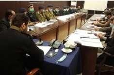 ڈسٹرکٹ پولیس آفیسر جہلم کی زیر صدارت ڈی پی او آفس میں آفس مینجمنٹ کے ..