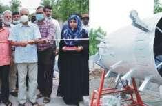 زرعی یو نیو رسٹی فیصل آباد میں جانوروں کی خوراک میں مسترد آلو کھلانے ..