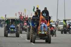 بھارت میں یوم جمہوریہ پر کسانوں کی ٹریکٹر ریلی نے تمام رکاوٹوں توڑ ..