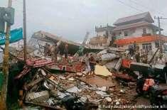 انڈونیشیا: سلاویسی جزیرے پر زلزلے سے زبردست تباہی