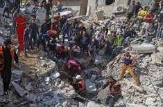 اسرائیل کی تازہ بمباری میں درجنوں فلسطینی ہلاک