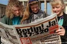 جرمن دارالحکومت بون کے بجائے برلن، فیصلے کو تیس برس ہو گئے