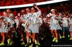 ٹوکیو اولمپکس کا باضابطہ آغاز ہو گیا