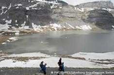 سوئٹزرلینڈ میں پگھلتے گلیشیئرز سے 180 نئی جھیلیں