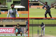 The practice session of Pakistan Test squad is in full swing Pakistan will play a two-day intra-squad practice match from ..