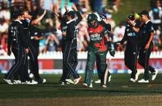 نیوزی لینڈ نے بنگلہ دیش کو تیسرے ون ڈے انٹرنیشنل میں 164رنز  سے شکست دے ..